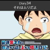 【Diary34】それはムリだよ