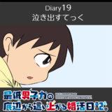 【Diary19】泣き出すてっく