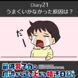【Diary21】うまくいかなかった原因は?