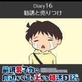 【Diary16】勧誘と売りつけ