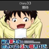 【Diary33】期待