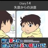 【Diary14】失意からの決意