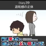 【Diary39】違和感の正体